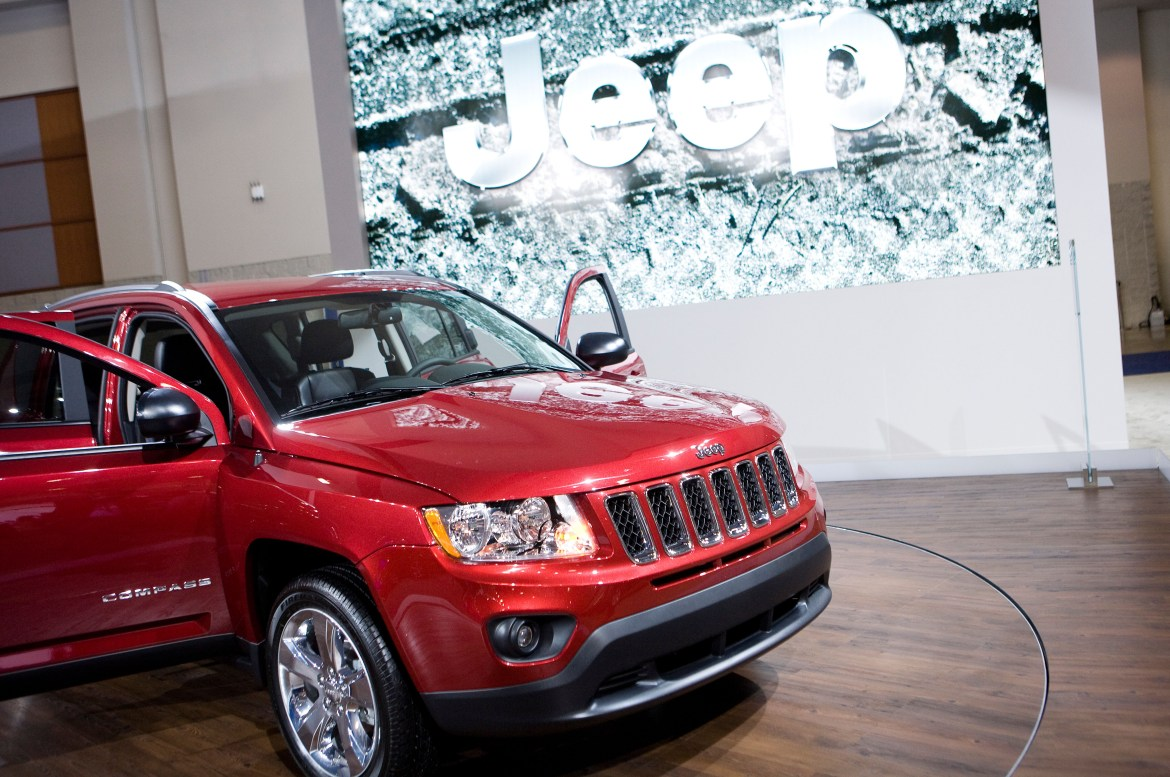 Jeep have apologised for their mistake