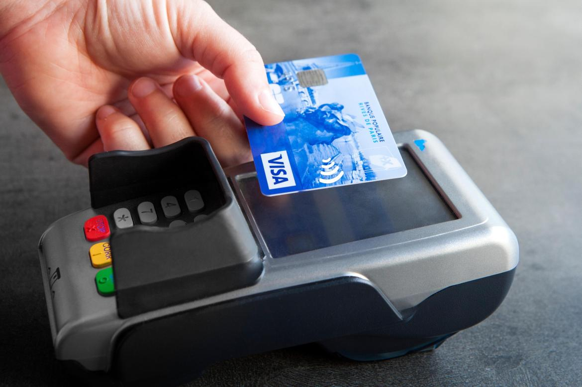 The limit has risen to £45, from £30, for contactless payments