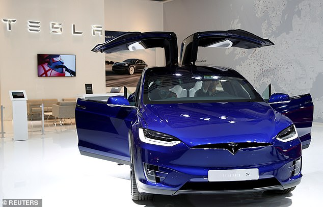 Tesla's like the one pictured may soon be able to automatically stop at traffic lights according to a new video posted to Twitter