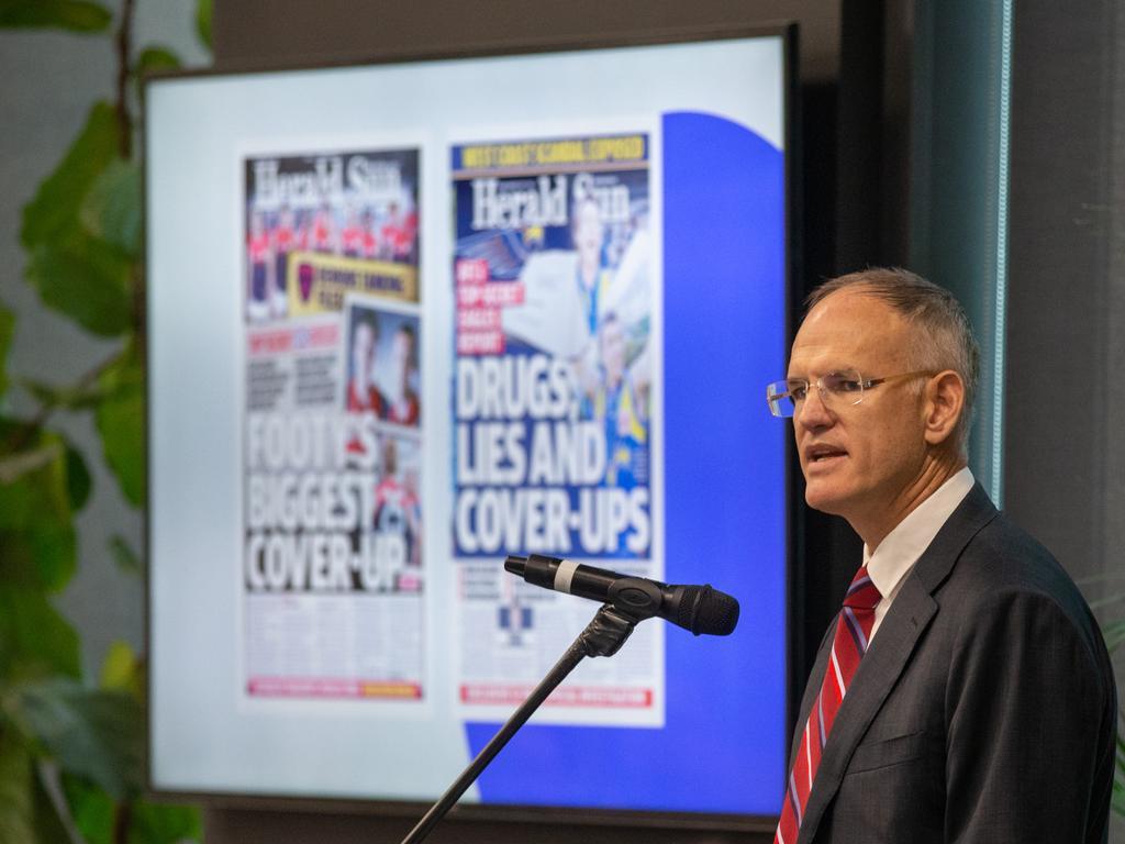 News Corp Australasia executive chairman Michael Miller. Picture: Mark Stewart