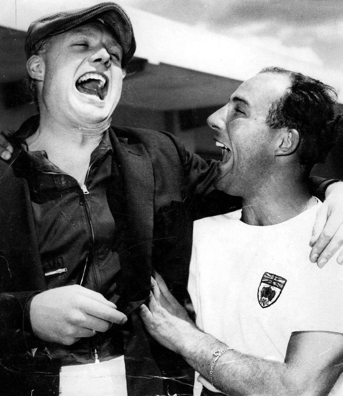 Moss famously lost the F1 title in 1958 to fellow Brit Mike Hawthorn when he ensured his rival was not disqualified from the Portuguese GP