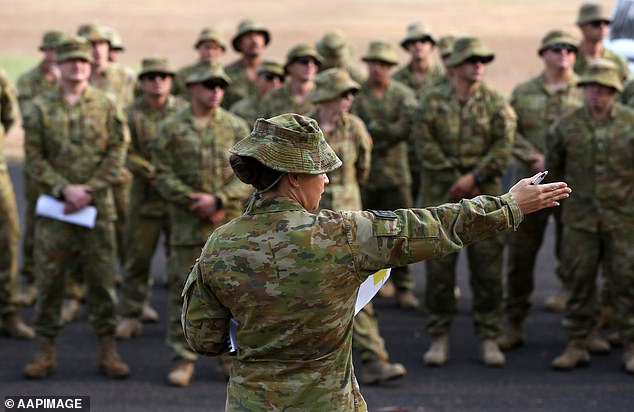 A select group of soldiers from the Australian Defence Force will be asked to participate, under informed consent, in a study on the effects of chloroquine as a COVID-19 treatment