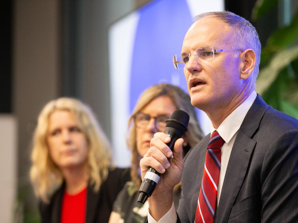 Michael Miller says the economic impact of the COVID-19 outbreak would not have been as devastating if the Federal Government had delivered vital media reforms. Picture: Mark Stewart