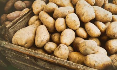 Spuds you like ... thousands of excess tonnes of potatoes are in circulation.