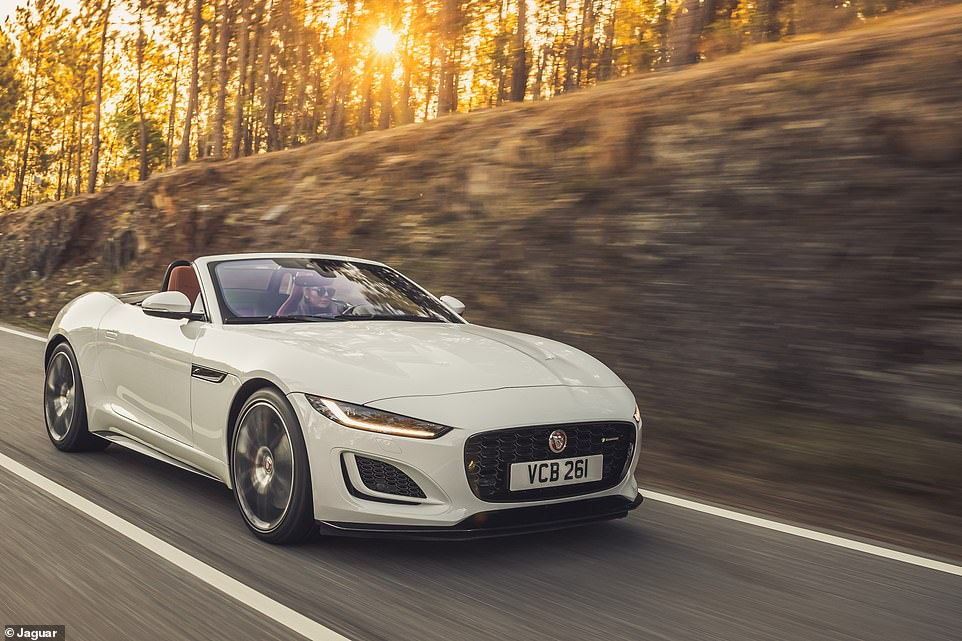 The Jaguar F-Type isn't just gorgeous to look at, it's a refined and capable cruiser. While it's a little heavy and understeers too much by sports car standards (in our opinion), you can use it everyday