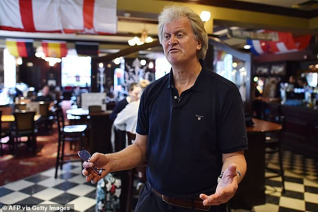 Page's friend Tim Martin, the founder of pub group Wetherspoons, called Page a 'virtual boss' for running his business from the South of France