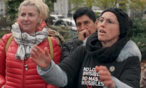 Loreta and Vitalija, members of United Voices of the World, as seen in Guardian Documentary