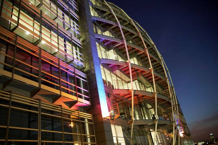 The London HQ of UK broadcast regulator Ofcom, which it has proposed could also take on the role of internet watchdog