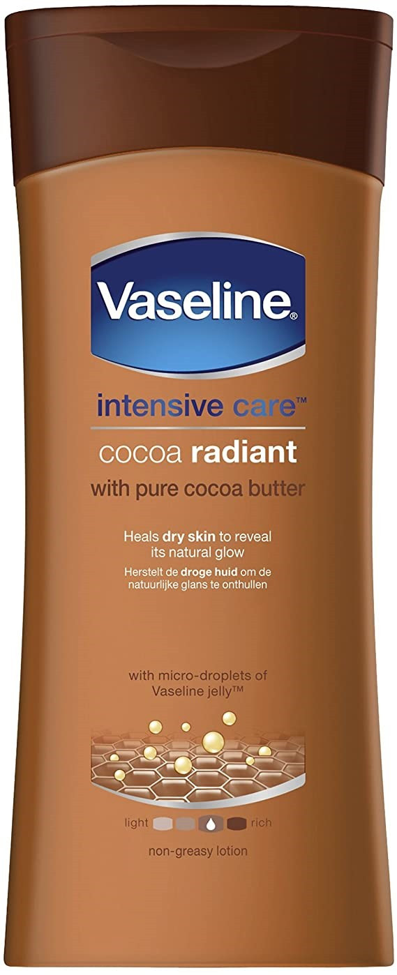 Vaseline's cocoa radiant body lotion is down to just £2.94 at Superdrug right now