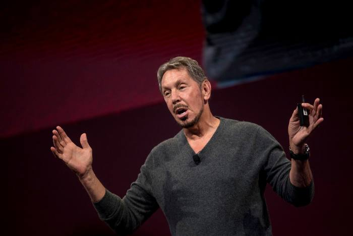 Oracle chairman Larry Ellison held a fundraiser for Donald Trump at his home this year