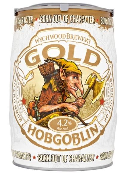 Hobgoblin Gold 5-litre beer keg is only £12.99 at Lidl