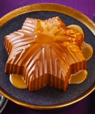 Tuck into this salted caramel star for pudding