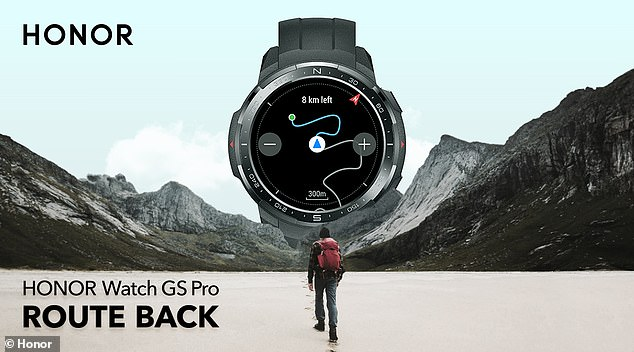 The GS Pro's top feature is probably its built-in GPS and GLONASS tracking system