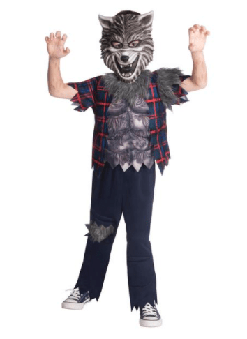 Turn into a scary werewolf with this Morrisons outfit