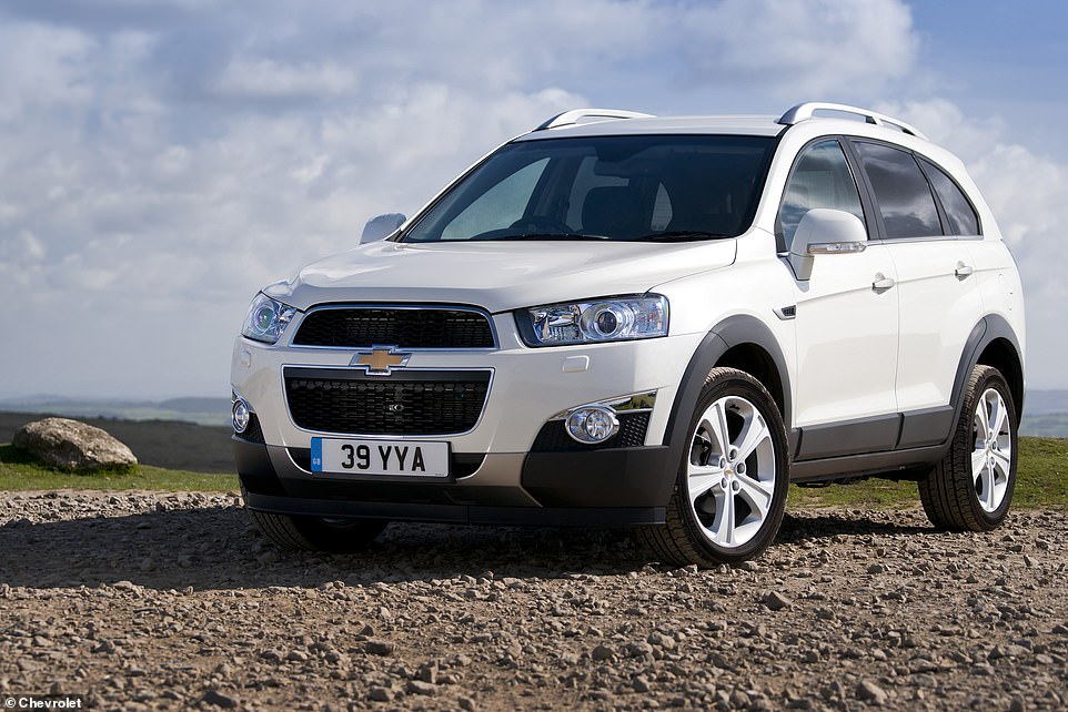 The Captiva is long gone from the new car market in the UK these days. Half of customers who do have one and a Warrantywise policy have had to make a claim in the last 5 years
