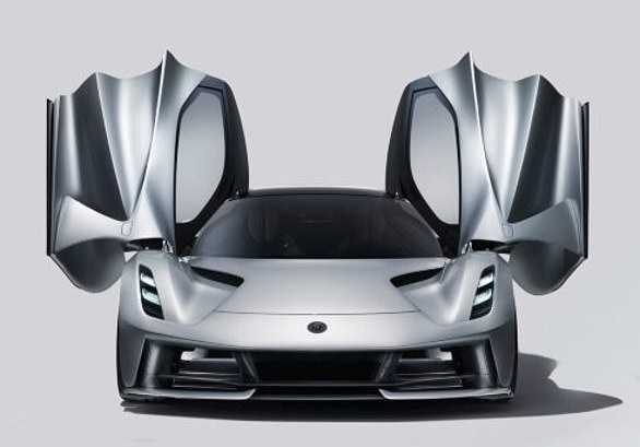 Only 150 orders are being accepted by Lotus for their £2million Evija hypercar (pictured)