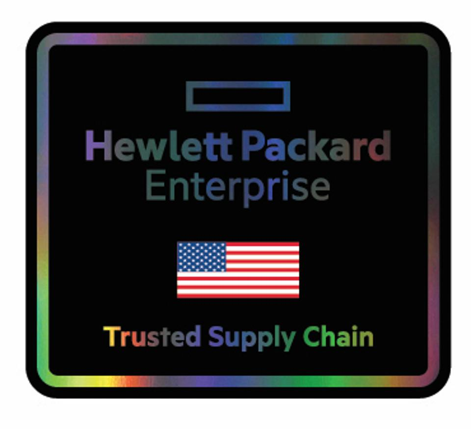 HPE Trusted Supply Chain.