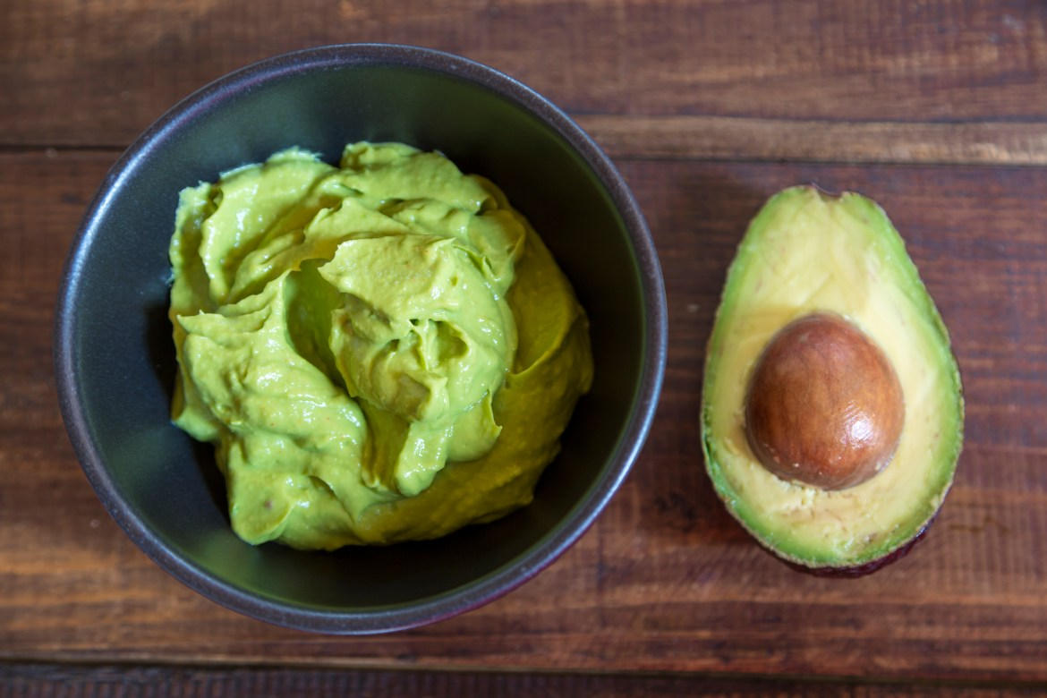 Eating avocado before a night out can help stave off a hangover