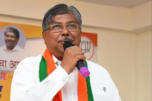 File photo of BJP leader Chandrakant Patil.