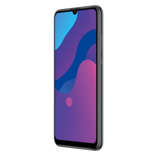 HONOR 9A smartphone in Midnight Black