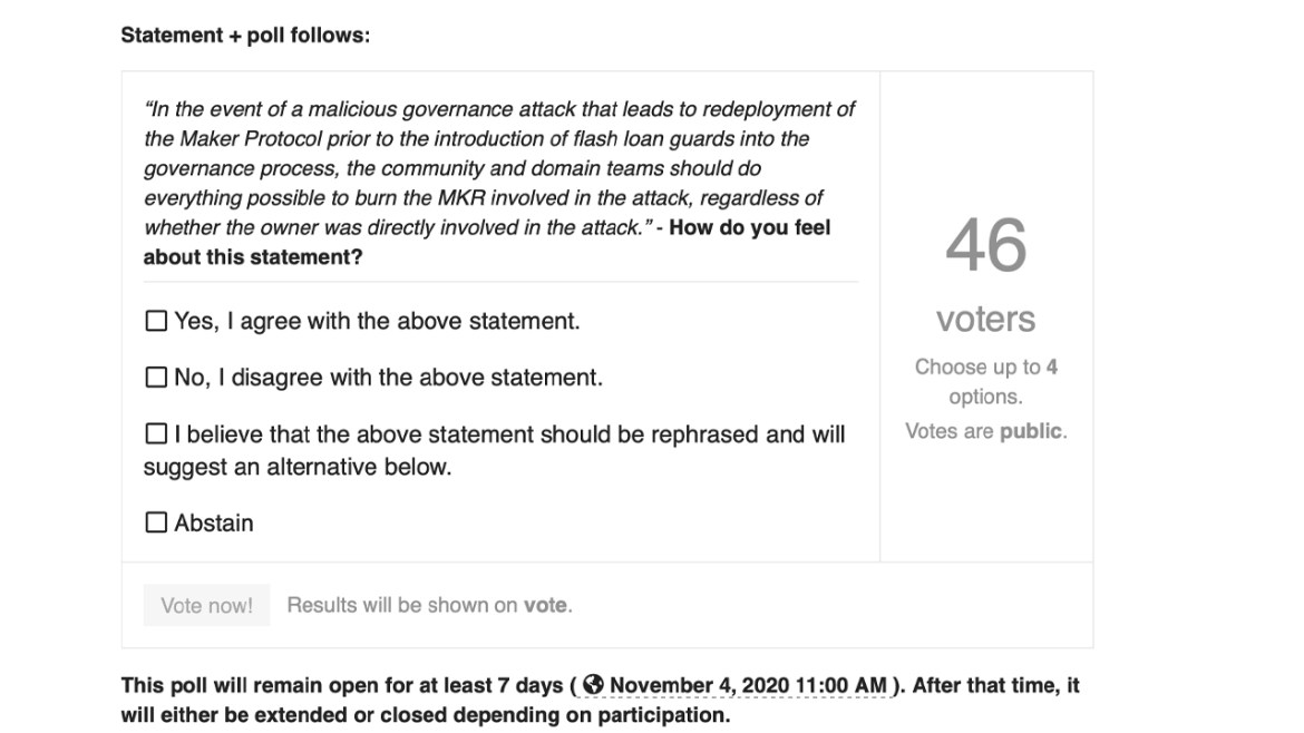 Uncollaterized Power: A Makerdao Governance Vote Was Swayed by a Defi Flash Loan