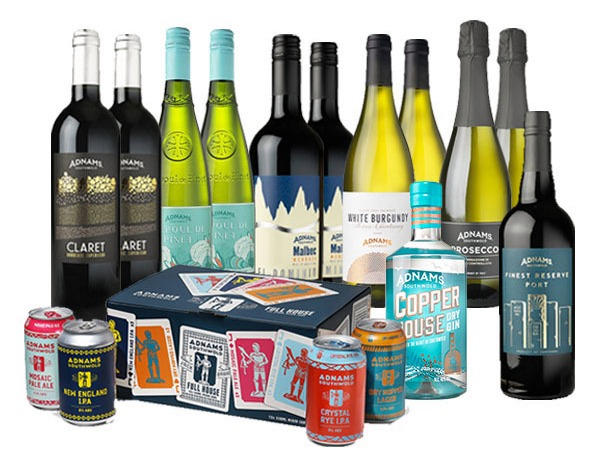 Stock up on fine wines and other beverages to enjoy the festivities
