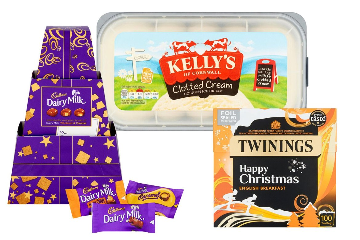 Stock up on sweet treats and essentials