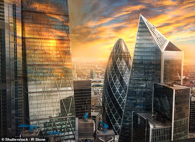 Slump:Only 10 per cent of global financial services companies plan to establish or expand operations in Britain in the next year