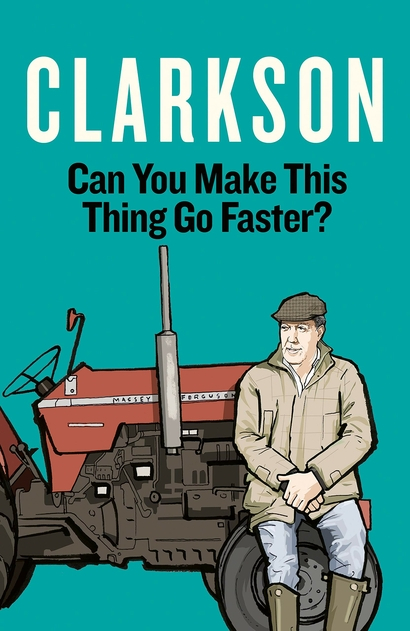 Win a signed copy of Jeremy Clarkson's new book. Unsigned copies available on Amazon