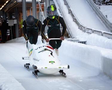 The teams are trying to raise funds for a new sled for the Europa Cup races this winter
