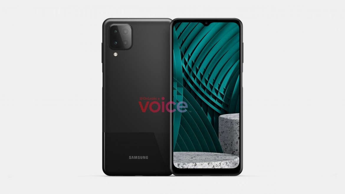 Leaked Galaxy M12 render