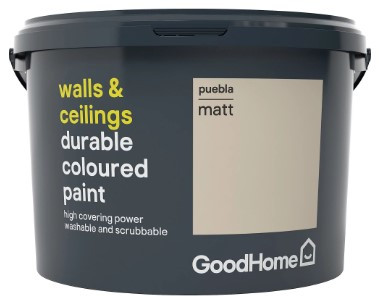 If you're more into muted tones, this matt paint could work well in your home