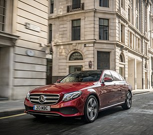 Some766 Mercedes E-class cars were stolen last year, making it the eighth most frequently nicked model