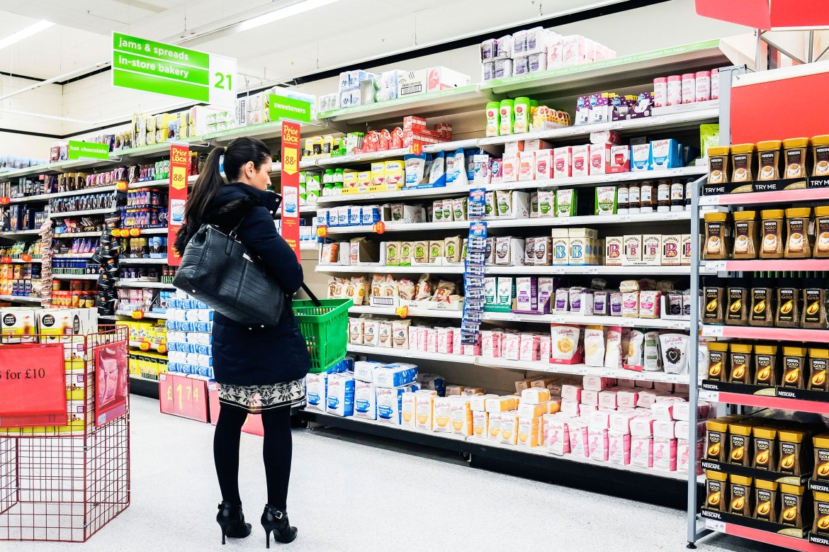 Shoppers can still buy items in supermarkets during lockdown if they follow safety rules