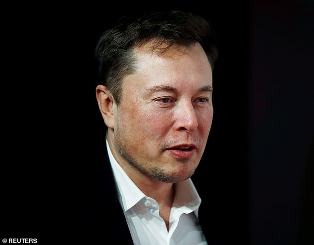 In the money: Tesla boss Elon Musk has overtaken Amazon founder Jeff Bezos to become the world's richest person