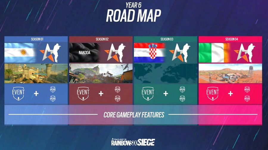 The official Rainbow Six Siege Year 6 roadmap