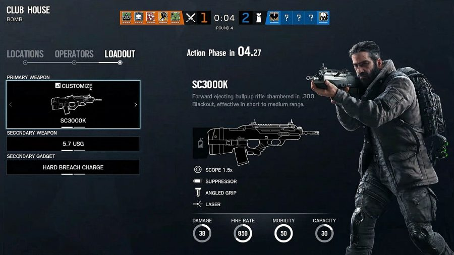Attacker repick system in action in Rainbow Six Siege