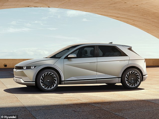 It's a crossover, combining hatchback design and SUV-like proportions - all powered by an electric drivetrain