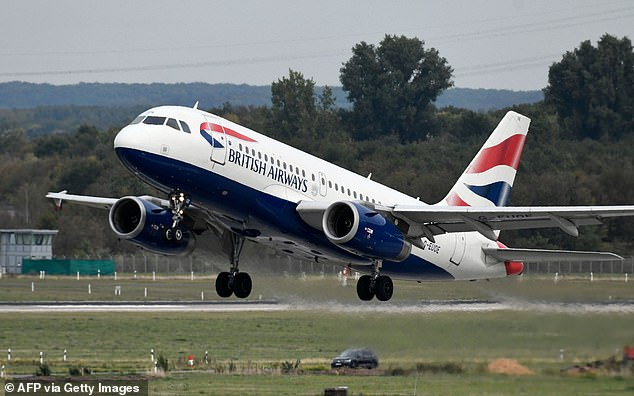 On the up: Shares in IAG performed strongly this morning, but remain down on a year ago