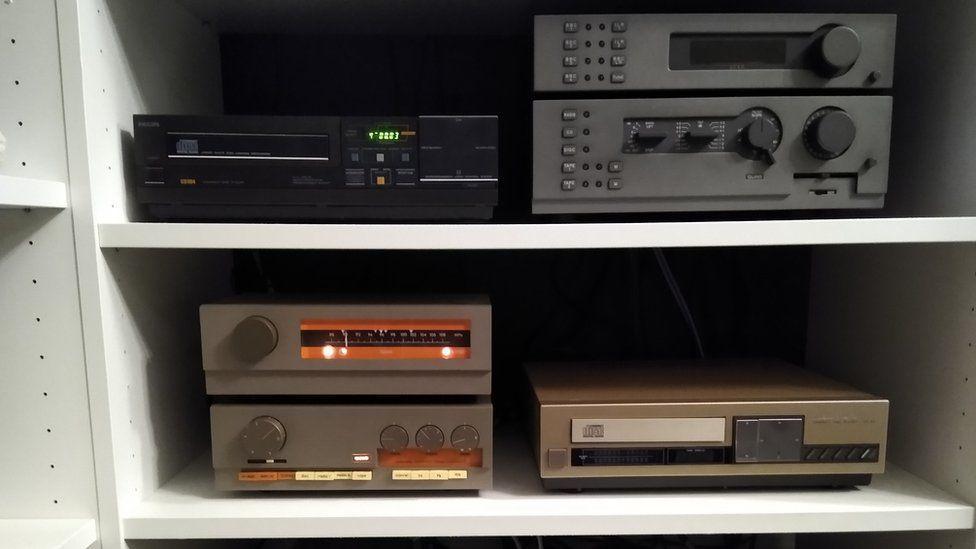 Rob Seaward's old hi-fis