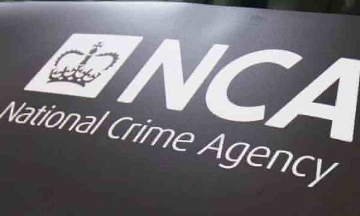A National Crime Agency sign