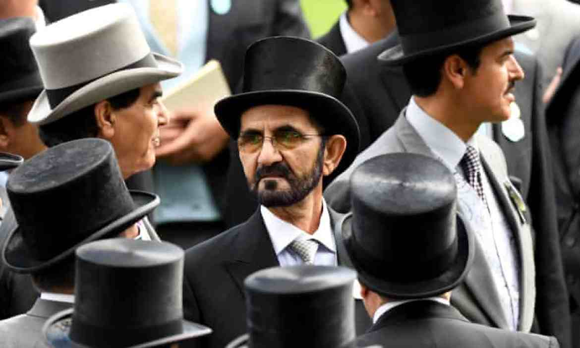 Sheikh Mohammed at Ascot in 2019.