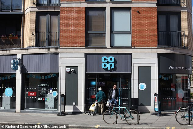 The Co-op has seen revenues jump during the pandemic (pictured: Store in Kentish Town, London)