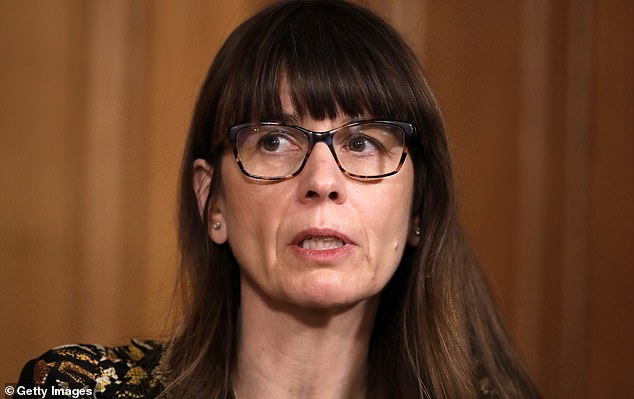Dr Susan Hopkins (pictured), chief medical adviser for NHS Test and Trace, reassured that vaccines were a 'primer' for the immune system and would help reduce hospitalisations and deaths