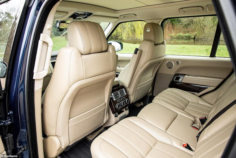 The car was likely purchased with family in mind, as Prince George was born in the same year - 2013 - Land Rover's VIP Department delivered the car to The Duke and Duchess of Cambridge