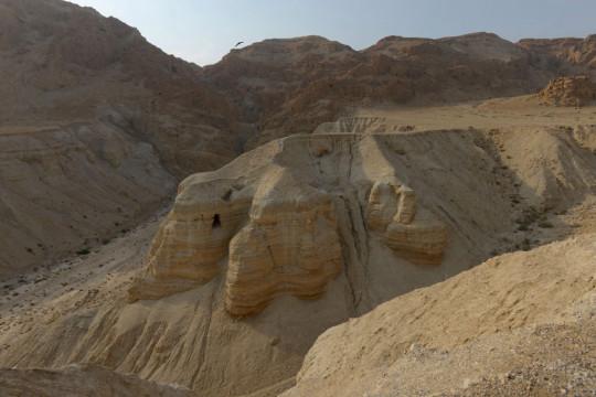 Caves of Qumran where Dead Sea scrolls were found