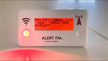 Global Security Systems, GSS, FM Alert, ShakeAlert, emergency alerting, RDS, FM subcarrier