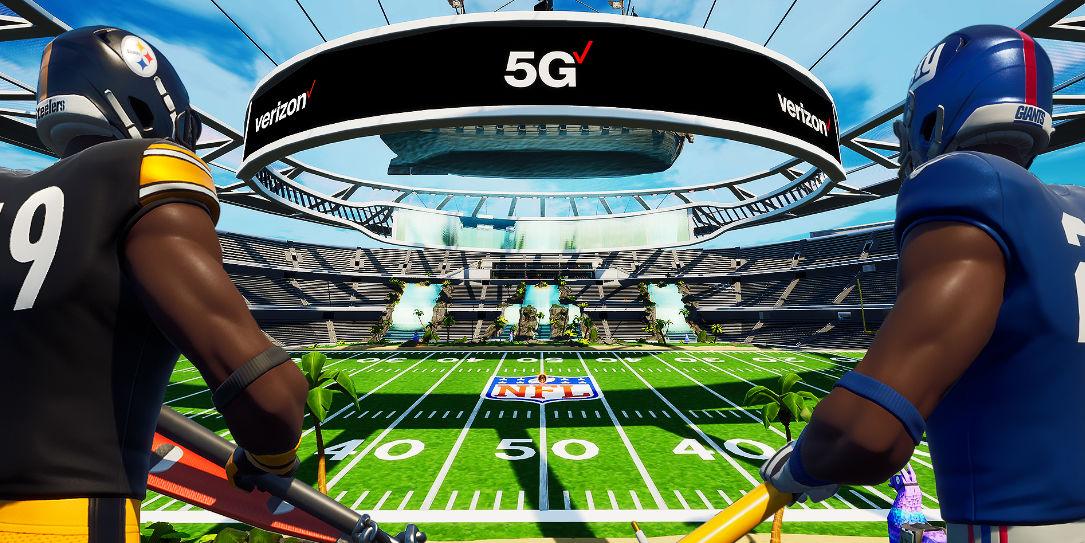 Verizon 5G Super Bowl Fortnite home security