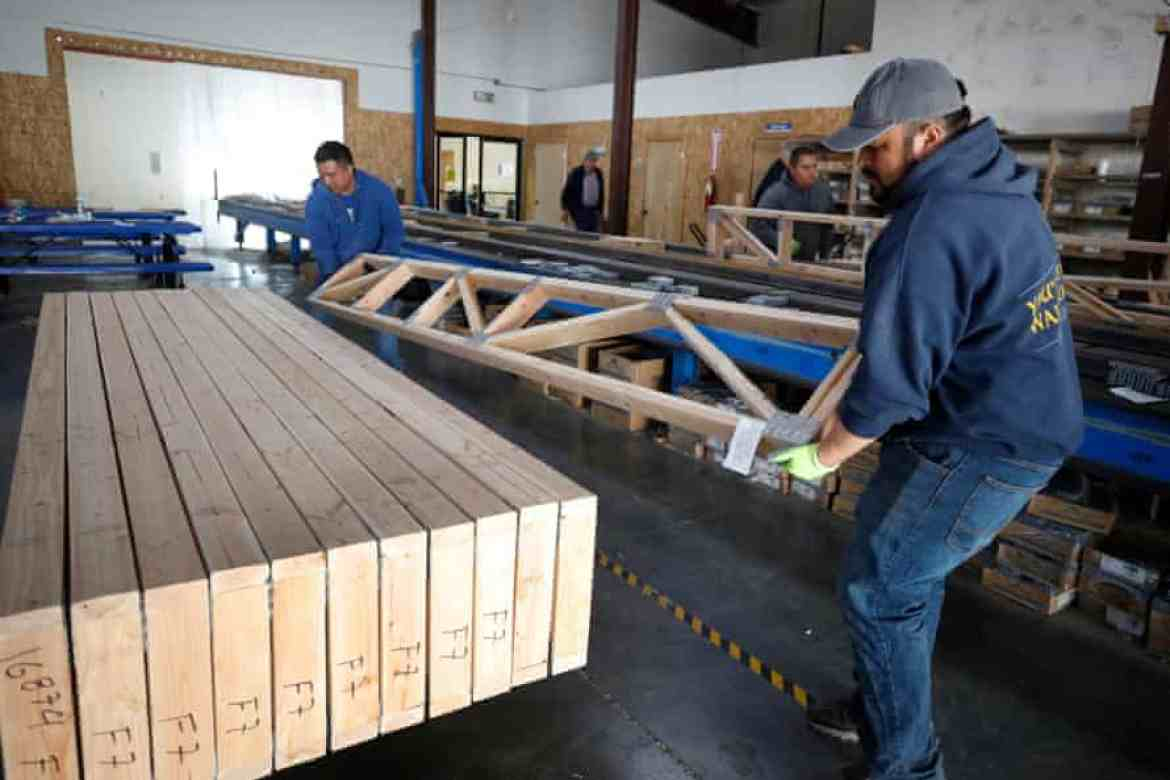 Lumber prices have sky rocketed along with supply shortages.