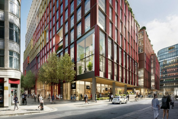 Property firm JLL has signed up to a 15-year lease on 134,000 sq ft at British Land's 1 Broadgate development
